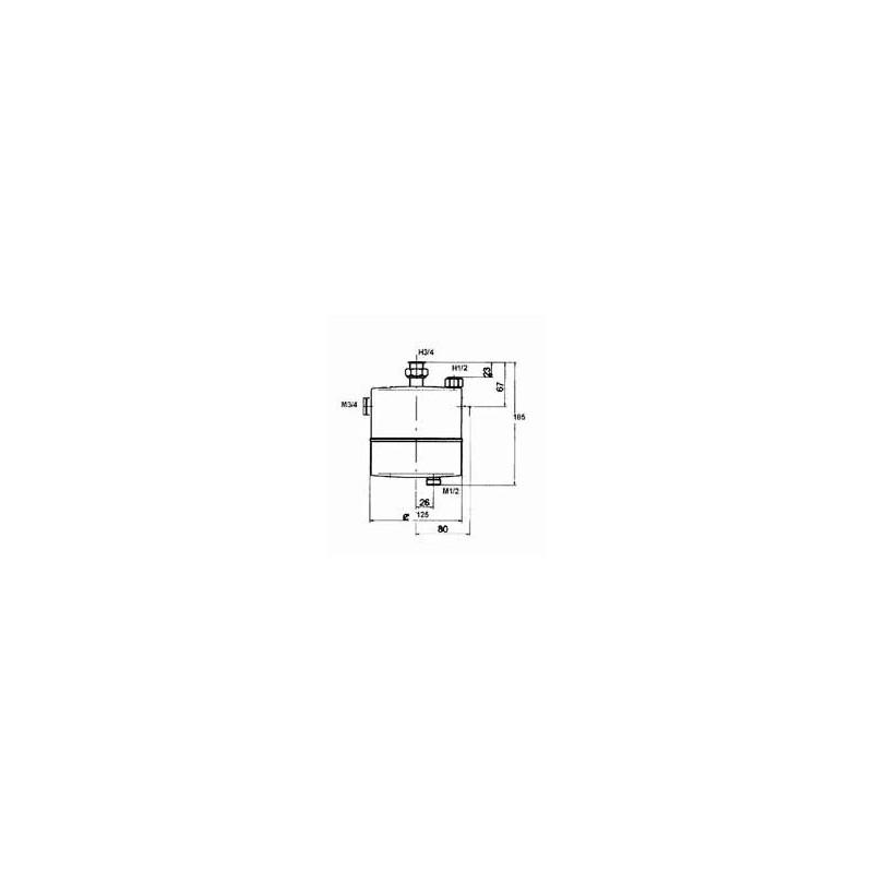 Intercamb-Boiler MUT K21.con racores